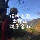 『【親子登山レポ】信州上田、太郎山。』の画像