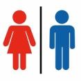 「トイレのピクトグラムはジェンダーに配慮とかお洒落デザインより視認性を優先してくれ」という話
