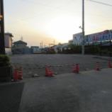 『愛知県北名古屋市 店舗駐車場リフォーム工事(車の腹を擦らない入り口の提案)』の画像