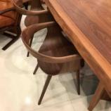 『【再入荷しました】軽くておしゃれなアームチェア・ナギD04540A・富士ファニチャー』の画像