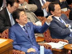 安倍内閣の支持率が無敵状態へ突入wwwwwww