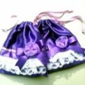 宝塚タカラヅカお礼 巾着◆紫