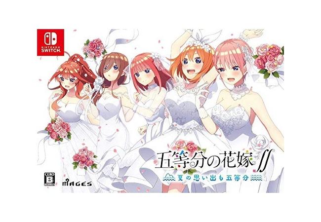 ゲーム『五等分の花嫁∬』 、めちゃくちゃ売れるwwwwww