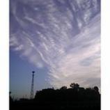 『朝の空気と雲の流れ』の画像