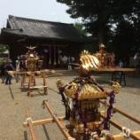 『上戸田6町会合同のお神輿(夏祭り)が開催されました』の画像