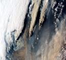 【画像】宇宙から見た森林火災