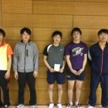 『◇仙台卓球センタークラブ◇ 仙台市春季卓球リーグ戦(男子の部) 結果』の画像
