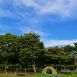 『若洲公園でテントの試し張りをしてきた』の画像