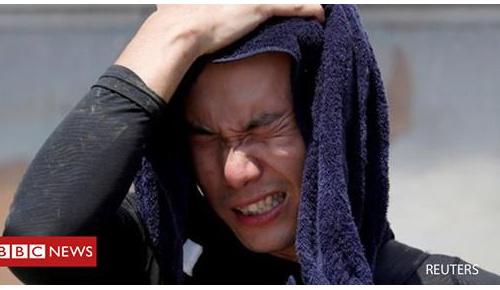 日本で猛暑が続いて大勢が犠牲に(海外の反応)