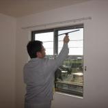 『三重郡川越町|ハウスクリーニング|作業風景(窓ガラス)』の画像