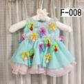 お花のゆらゆらカラフル子供ドレス(70cm)SOLD OUT