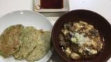 チヂミと麻婆豆腐作ったから質問答える(※画像あり)