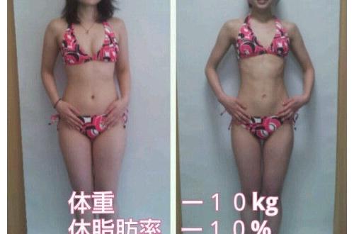 【画像】51.2kgの女が筋トレして痩せた結果wwwwww(※ビフォーアフター)のサムネイル画像