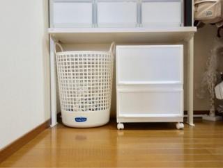 【ニトリ】ゴミ箱にもなる!ニトリの真っ白収納グッズ!