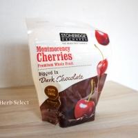 『大人のおやつにぴったり。 Stoneridge Orchardsのチョコがけチェリーはビターチョコとチェリーの酸味が絶妙です。』の画像