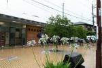 交野市は7日12時前に土砂災害警戒情報は解除。大雨警報は継続中。JR学研都市線運行再開