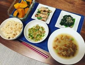 【画像あり】吉木りささん(28)の夕食が健康的で美味そう