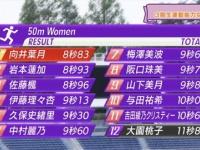 【乃木坂46】50m走の結果から見るメンバー速さランキングwwwwww