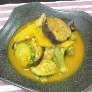 夏野菜のカレー煮