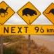 【画像】めずらしい世界の動物道路標識など貼ってくから見てくれ