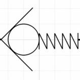 『チェックバルブ(バネ押し)コンポーネント作成』の画像