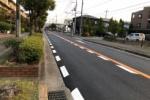 すっかり黒色!交野市のメイン道路、ガスト前の道『私部西線』がリニューアルしてる!