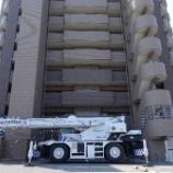 『丸亀市にレッカークレーン車を使いイタリア・SACCOMODI社のソファ・APR012を納品』の画像