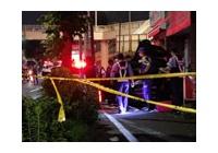 【動画】 環七・南馬込付近で歩道に車が突っ込み大破 運転手即死、巻き込まれた女性が心肺停止