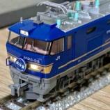 『KATO EF510北斗星色 入線!』の画像