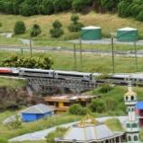 『インドネシア型が走る庭園鉄道、レンバンフローティングマーケット訪問記』の画像