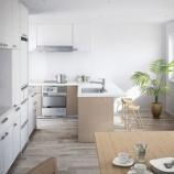 『使いやすいキッチンのレイアウト参考画像、写真 1/2』の画像