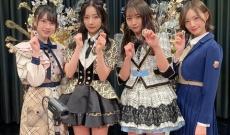 【乃木坂46】中田花奈が村瀬紗英(NMB48)、永野芹佳(AKB48)、山本彩加(NMB48)とガチ麻雀!
