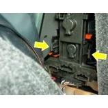 『CATZ BL ハロゲンウェッジ バックランプ 装着マニュアル(ゴルフ4、ポロなど)』の画像