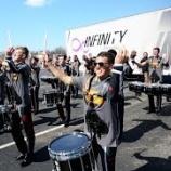 『【WGI】ドラム大会ロット! 2015年インフィニティ『オハイオ州デイトン』大会本番前フルショー動画です!』の画像