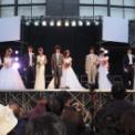 東京大学第64回駒場祭2013 その75(ミス&ミスター東大コンテスト2013の65(候補者ウェディングドレスとタキシードで登場の2))