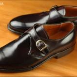 『オールデン モンクストラップ! 靴の神が降臨した作品。』の画像