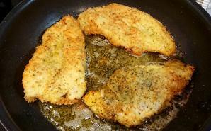 鶏むね肉の香草パン粉焼きディナー