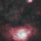 『いて座の干潟星雲&三裂星雲コラボⅡ』の画像