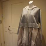 『irise(イリゼ)異素材ミックススプリングコート』の画像