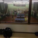 『いわき卓球センターの合宿に参加してきました』の画像