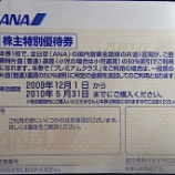 『【旅の道具~ANA株主優待券】』の画像
