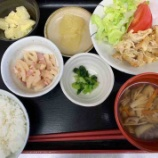 『2号館昼食(豚肉のピカタ)』の画像