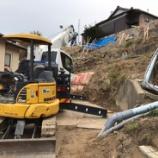 『災害復旧工事 復旧完了(落石防護柵他)』の画像