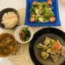 フライパン1つで作れる彩野菜のアクアパッツァ- 糖尿病夫の低糖質食(2019年11月17日)