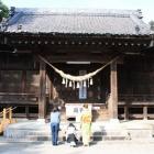 『七五三、神社参り』の画像