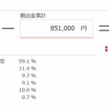 『2020年5月(37カ月目)の東京海上日動のiDeCoの評価額は833,930円でした。』の画像