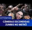 【動画】海外の地下鉄でゾンビに襲われるドッキリ企画!あまりの恐怖に女性3人のうち1人失神へ