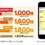『近鉄 9月からのチケットレスサービスでの特急料金割引「名阪チケレス割」を実施』の画像