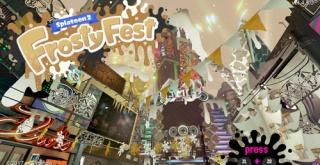 『スプラトゥーン2』世界合同フェス「Frosty Fest」の開催が決定!お題は「年末年始は誰と過ごす? 家族vs仲間」