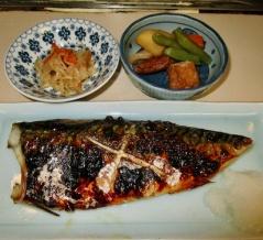 歌舞伎町 めし処 ひょっとこ さば焼き定食